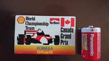 レア、カナダグランプリ、ホンダステッカー