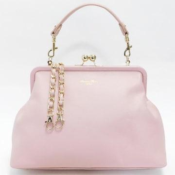 美品サマンサタバサ ハンドバッグ 2WAY ピンク 良品 正規品