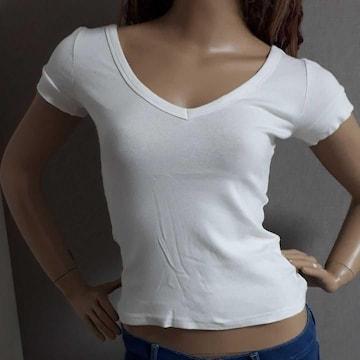 ANAP シンプル Tシャツ ホワイト 白