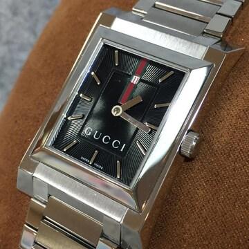 【美品】GUCCI 正規メンズ腕時計 111M