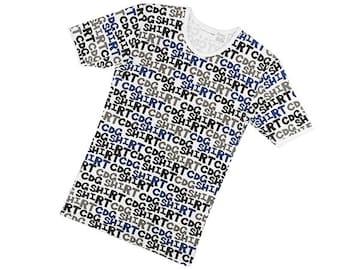 レア◆コムデギャルソン SHIRT◆マルチロゴTシャツ インナー/S