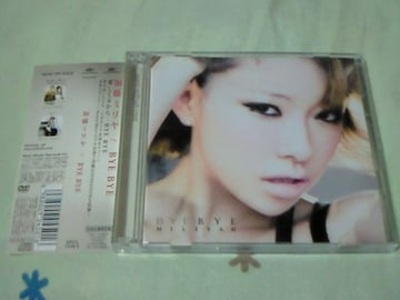 CD+DVD 加藤ミリヤ BYE BYE 初回生産限定盤