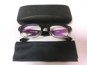 エフェクターNEIGHBORHOODネイバーフッド伊達眼鏡メガネ下透明