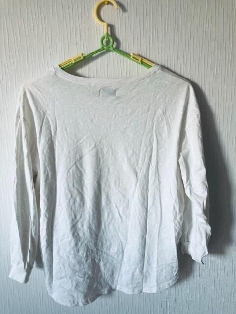 Tシャツ カットソー Vネック インナー シャツ レディース  < 女性ファッションの