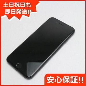 ●安心保証●美品●DoCoMo iPhone7 32GB ジェットブラック●