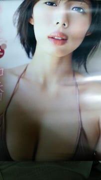 井上和香★2004カレンダー☆7枚綴り■TRY-X