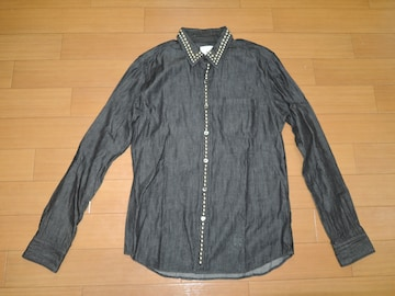 uniform experiment スタッズデニムシャツ 1ソフネットSOPHNET.