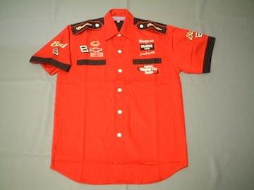 激安★NASCAR★Bud★ピットシャツ★赤★XL