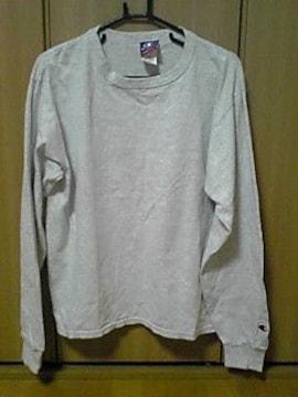 'チャンピオン'長袖Tシャツ