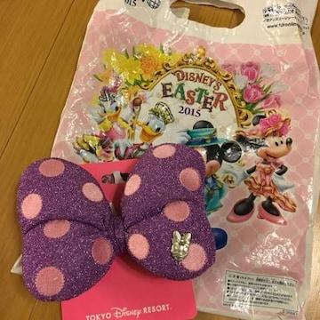 新品 東京ディズニーランド ディジー リボンヘアゴム
