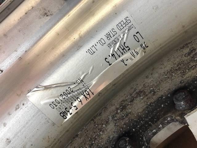 5100209)稀少SSRメッシュホイ-ル美品ホワイト16インチ6.5J+34B114.3-5H送料無料 < 自動車/バイク