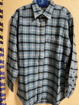 新品未使用:メンズ長袖シャツ
