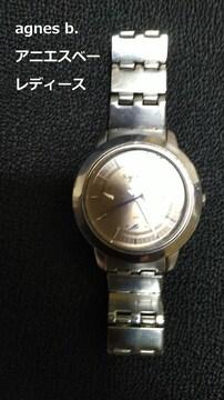 agnes b. アニエスベー 腕時計 動作品 レディース