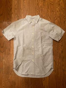 beams ビームス 半袖 シャツ 古着 サイズS マチ付き