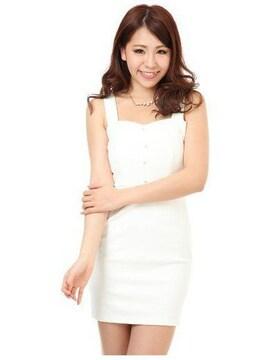 新品★Lipservice リップサービス★ビスチェワンピ ホワイト/M タグ付 未開封