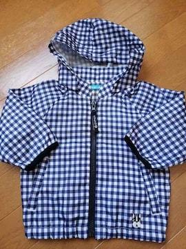 ☆新品同様☆CUCCOフーセンウサギ☆シャカシャカジャンパー☆80