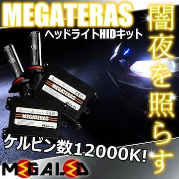 Mオク】ステップワゴンRF1/2系後期/ヘッドライトHIDキット/H1/12000K