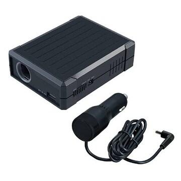 セイワ(SEIWA) バッテリーソケット DC12V対応 USB 5V/2.4A対応 P