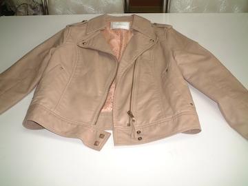 tricolour 合成皮革 ジャケット Mサイズ