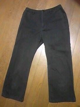 ユニクロ/パンツ/黒/七分/サイズ→57 平おき約30センチ