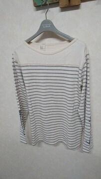 ミスターハリウッド/N.HOOLYWOOD ボーダーカットソー バスクシャツ 38