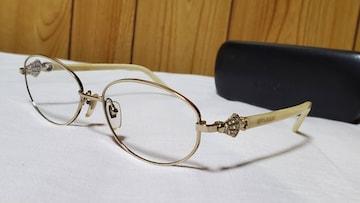 正規レア ブルガリ ディーヴァ ドリーム 全面パヴェストーン装飾 メガネ ロゴサングラス