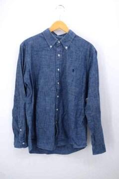 RALPH LAUREN(ラルフローレン)ポニー刺繍 シャンブレーシャツ ダンガリーシャンブレーシャツ