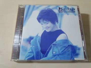 島田歌穂CD「ウィル・ユー・ダンス?」洋楽日本語 廃盤●