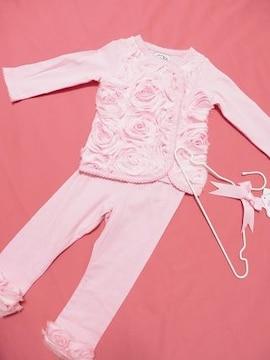 ★ローズベビー子供服アメリカ大人気上下セットアップmudpie