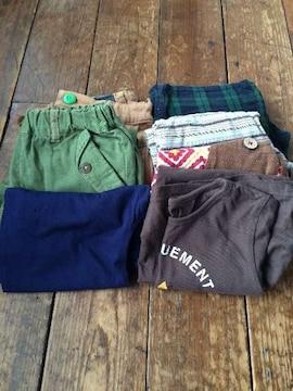 女の子 夏物新品5枚、使用品3枚 size100〜120
