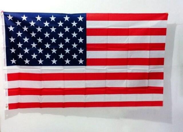アメリカUSA国旗・星条旗 【サイズ87×150cm】  < ホビーの