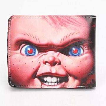 ★チャイルドプレイ★チャッキー・2つ折り財布