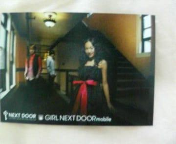 〓a-nation'09アーティストカードGIRL NEXT DOOR�B
