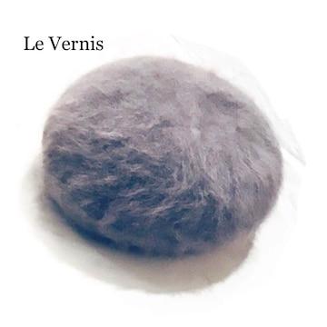 Le Vernis*キャセリーニ*アンゴラニット*ベレー帽*秋冬