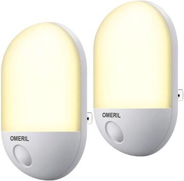 足元灯 明暗センサー コンセント式 LED