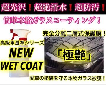 超絶滑水性 ガラスコーティング剤 4.0L(ロングスプレー版!)