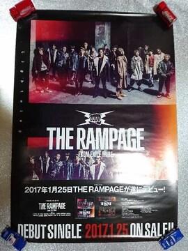 THE RAMPAGE「Lightning」告知ポスター EXILE