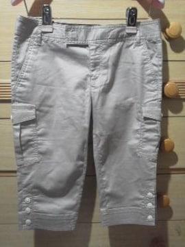 GAPシルエットがキレイなカプリ・パンツ《0》送料180円