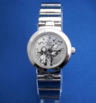 ナイトメア腕時計-サリーとジャックのメタルウォッチ