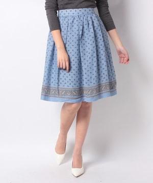 Te chichi TERRASSE ペイズリースカート