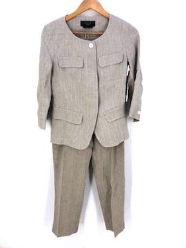 MAX MARA WEEKEND(マックスマーラウィークエンド)リネンセットアップスカートスーツ