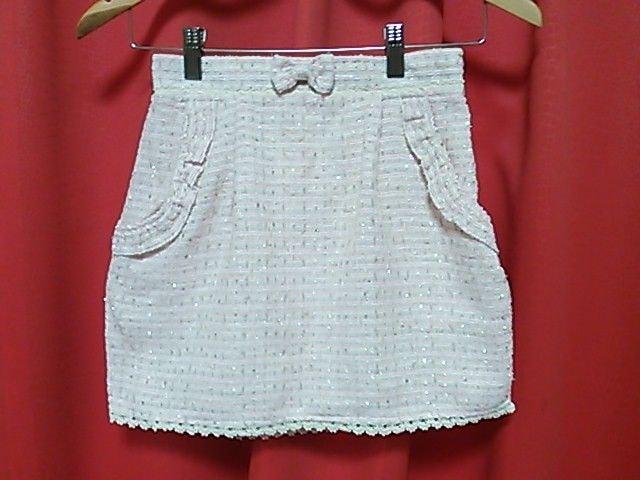 タグ付き未使用☆リズリサ☆ミニスカート☆  < ブランドの