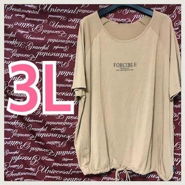 3L・サンプル品・LADIESカットソー新品/MCQ004-108