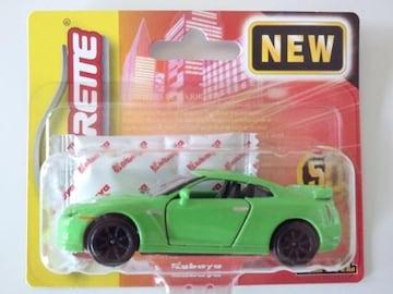 マジョレット 日産 GT-R 緑