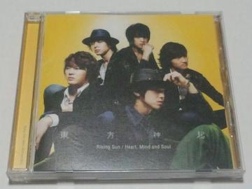 東方神起/ライジングサン/Rising sun/CD/2006/帯付き