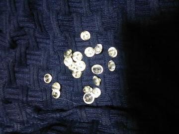 ボタン ビーズ 水晶風 クリスタル