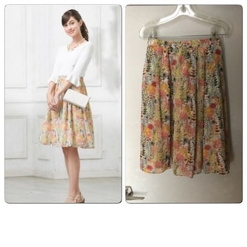 【LIBERTYコラボアイテム】TOCCA トッカLIBERTY スカート
