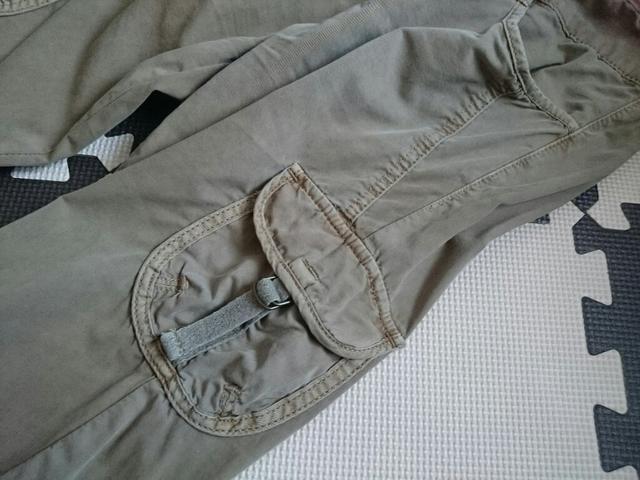 ユニクロ☆カーゴパンツ★クロップド丈☆カジュアルパンツ★ < ブランドの