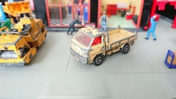[ジャンク・絶版・トミカ]No.010 三菱 キャンター ダンプトラック/日本製・黒箱