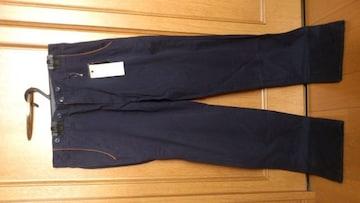 激安92%オフカジュアルパンツ、チノパン、ズボン(新品タグ、紺、L)